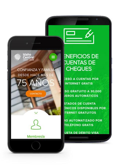 imagen de dispositivos móviles