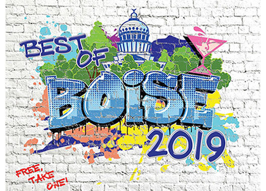 Boise Weekly Best of Boise Award Graphic
